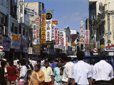 Busy Street Scene, Main Street Area, Colombo, Sri Lanka Photographic Print by Robert Harding