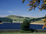 Ladybower Reservoir, Peak District, Derbyshire, England, United Kingdom Photographic Print by Chris Nicholson