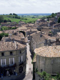 View of the Town, St. Emilion, Gironde, Aquitaine, France Photographic Print by Jonathan Hodson