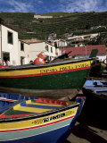 Fishing Boats, Camara De Lobos, Madeira, Portugal Photographic Print by Robert Harding