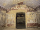 Etruscan Tomb, Caccia E Pesca, Tarquinia, Unesco World Heritage Site, Italy Photographic Print by Ken Gillham
