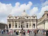 St. Peter's Square, Vatican, Rome, Lazio, Italy Photographic Print by Peter Scholey
