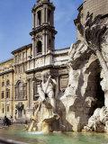 Piazza Navona, Rome, Lazio, Italy Photographic Print by Peter Scholey