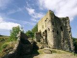 Peveril Castle, Castleton, Peak District, Derbyshire, England, United Kingdom Photographic Print by Ken Gillham