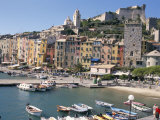 Portovenere Harbour, Unesco World Heritage Site, Liguria, Italy, Mediterranean Photographic Print by Ken Gillham