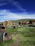 Bodie, Ghost Town, California, USA Photographic Print by Tony Gervis