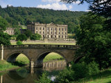 Chatsworth House, Derbyshire, England, United Kingdom Photographic Print by Peter Scholey