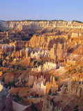 View Over Silent City from Sunset Point, Bryce Canyon National Park, Utah, USA Photographic Print by Tony Gervis