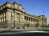 Exterior of State Parliament House, Melbourne, Victoria, Australia Photographic Print by Peter Scholey