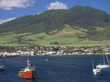 View to Basseterre, St. Kitts, Leeward Islands, West Indies, Caribbean, Central America Photographic Print by Ken Gillham