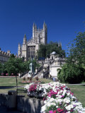 Parade Gardens and the Abbey, Bath, Unesco World Heritage Site, Somerset, England Photographic Print by Chris Nicholson
