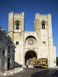 The Romanesque Style Se (Cathedral), Lisbon, Portugal Photographic Print by Peter Scholey