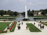 Entrance Grounds, Nymphenburg Castle, Munich, Bavaria, Germany Photographic Print by Ken Gillham