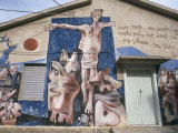 Political and Social Murals in Orgosolo, Nudro Province, Sardinia, Italy Photographic Print by Ken Gillham