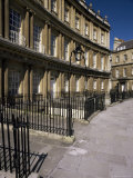 The Circus, Georgian Terrace, Bath, Unesco World Heritage Site, Avon, England Photographic Print by Chris Nicholson