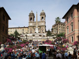 Spanish Steps, Rome, Lazio, Italy Photographic Print by Peter Scholey