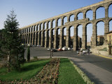 Roman Aqueduct, Segovia, Unesco World Heritage Site, Castilla Leon, Spain Photographic Print by Peter Scholey