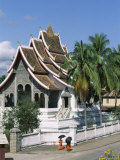 Royal Palace Pavilion, Luang Prabang, Unesco World Heritage Site, Laos Photographic Print by Alain Evrard
