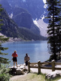 Lake Moraine, Alberta, Rockies, Canada Photographic Print by Robert Harding