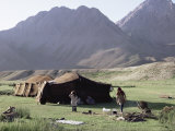 Nomad Tents, Lar Valley, Iran, Middle East Photographic Print by Desmond Harney