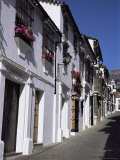 Street Scene, Grazalema, Andalucia, Spain Photographic Print by Peter Higgins