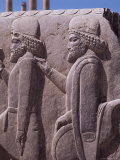 Detail, Persepolis, Unesco World Heritage Site, Iran, Middle East Photographic Print by Robert Harding