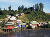 Palafitos, Castro, Chiloe Island, Chile, South Amrica Photographic Print by Ken Gillham