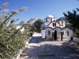 Church by the Port, Mandraki, Island of Nissyros, Dodecanese, Greece Photographic Print by Ken Gillham