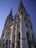 The Exterior of the Christian Cathedral, Chartres, Eure Et Loir, Centre, France Photographic Print by Jonathan Hodson