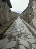 Street, Pompeii, Campania, Italy Photographie par Michael Newton