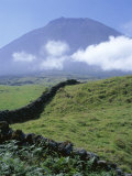 Landscape, Pico, Azores Islands, Portugal, Atlantic Photographic Print by David Lomax