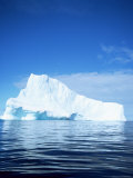 Iceberg off East Greenland, Polar Regions Photographic Print by David Lomax