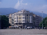 Main Square, Skopje, Macedonia Photographic Print by David Lomax