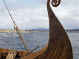 Viking Oseberg Ship, Haholmen, West Norway, Norway, Scandinavia Photographic Print by David Lomax