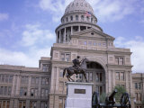 Exterior of State Capitol Building, Austin, Texas, United States of America (Usa), North America Photographic Print by David Lomax