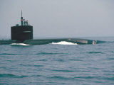 Nuclear Submarine, United States Navy Photographic Print by David Lomax