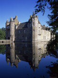 Chateau De Trecesson, Dating from the 15th Century, Near Paimpont, Brittany, France Photographic Print by Geoff Renner