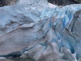 Glacier Climbing Tour, Briksdalsbreen Glacier, Western Fjords, Norway, Scandinavia Photographic Print by Gavin Hellier
