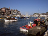 Weymouth Harbour, Dorset, England, United Kingdom Photographic Print by Jenny Pate