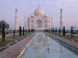 The Taj Mahal, Unesco World Heritage Site, Agra, Uttar Pradesh State, India Photographic Print by Gavin Hellier