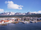 The Southernmost Port of Ushuaia, Argentina, South America Photographic Print by Geoff Renner