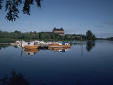 Hame Castle and Lake Vanajavesi, Hameenlinna, Finland, Scandinavia Photographic Print by Jenny Pate