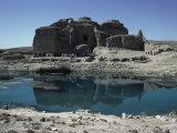 Sassanian Palace, Firuzabad, Iran, Middle East Photographic Print by Sybil Sassoon