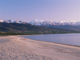 Lake Issyk-Kul, Kirghizstan, Central Asia Photographic Print by Gavin Hellier