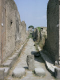 Pompeii, Unesco World Heritage Site, Campania, Italy Photographic Print by Walter Rawlings