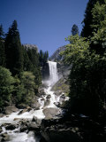 Vernal Falls, 318Ft., Yosemite National Park, Unesco World Heritage Site, California, USA Photographic Print by Geoff Renner