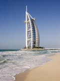 The Iconic Symbol of Dubai, the Burj Al Arab, the World's First Seven Star Hotel, Dubai Photographic Print by Gavin Hellier
