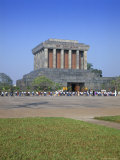 Ho Chi Minh's Mausoleum, Hanoi, Vietnam, Indochina, Southeast Asia Photographic Print by Gavin Hellier