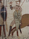 Death of King Harold, Bayeux Tapestry, 69, Normandy, France Photographic Print by Walter Rawlings