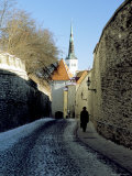 The Oldtown, Tallinn, Estonia, Baltic States Photographic Print by Gavin Hellier